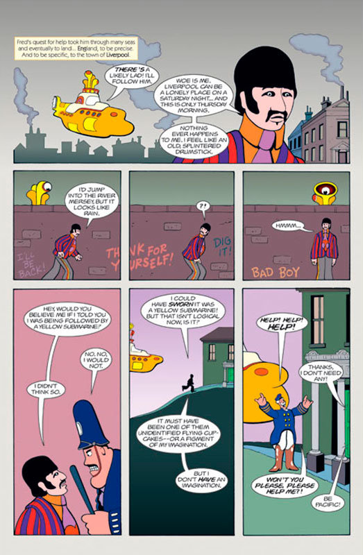 Página de Yellow Submarine