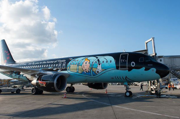 Brussels Airlines A320, Rackham