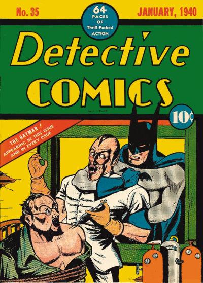 Detective Comics # 35