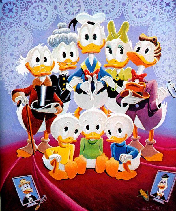 Família Pato