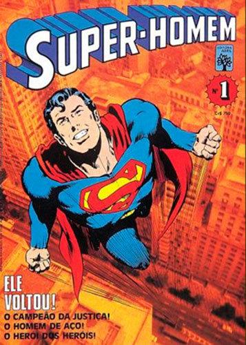 Super-Homem # 1, da Editora Abril