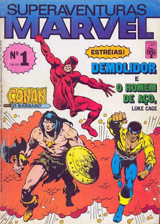 Superaventuras Marvel # 1