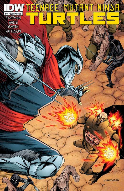 Teenage Mutant Ninja Turtles # 44