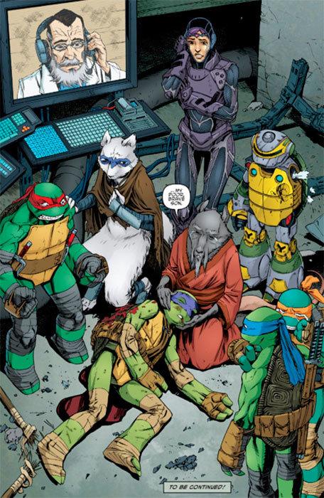 Página de Teenage Mutant Ninja Turtles # 44
