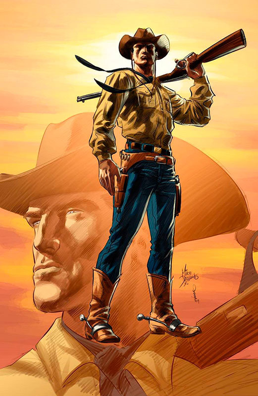Tex, por Mike Deodato Jr.