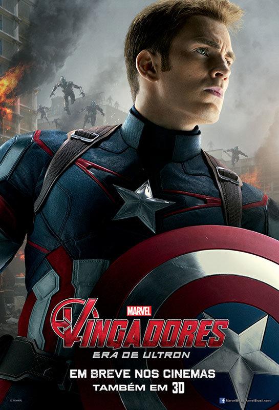 Capitão América em Os Vingadores – A Era de Ultron