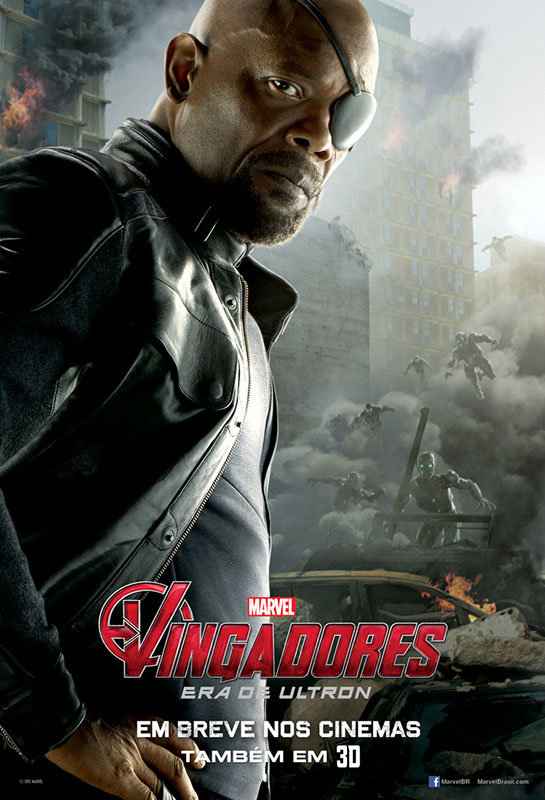 Nick Fury em Os Vingadores – A Era de Ultron