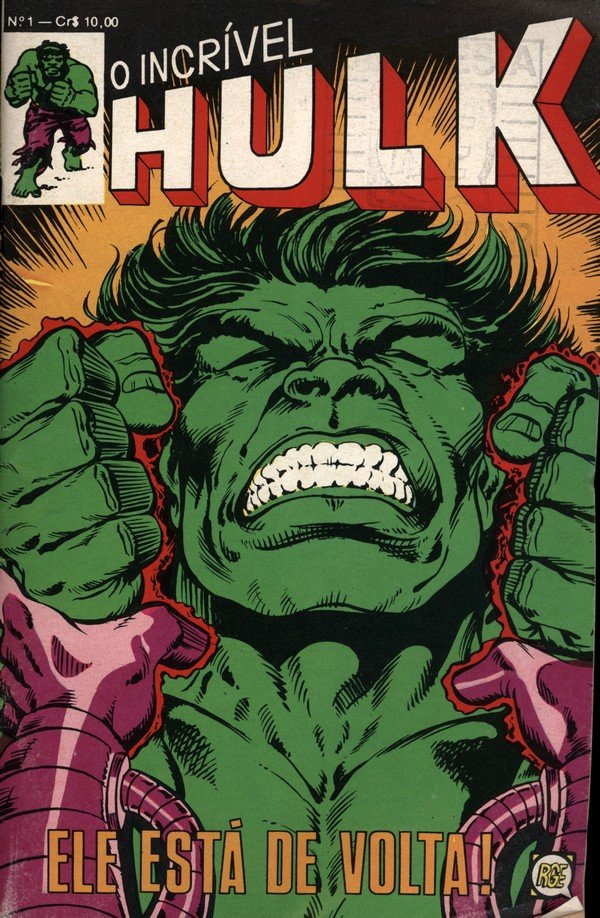 O Incrível Hulk # 1