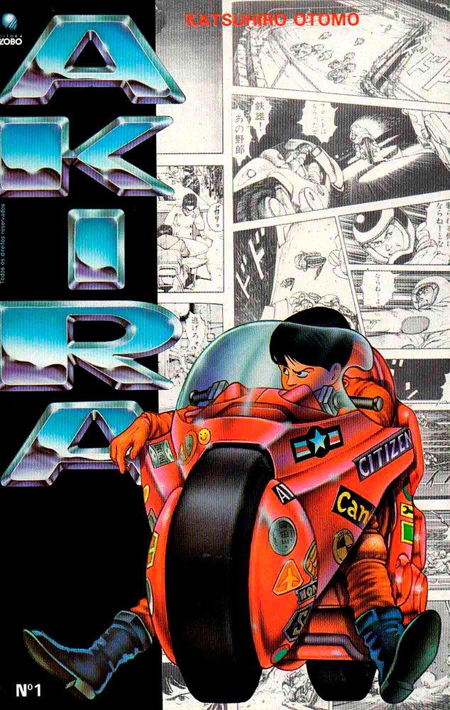 Akira # 1, da Editora Globo