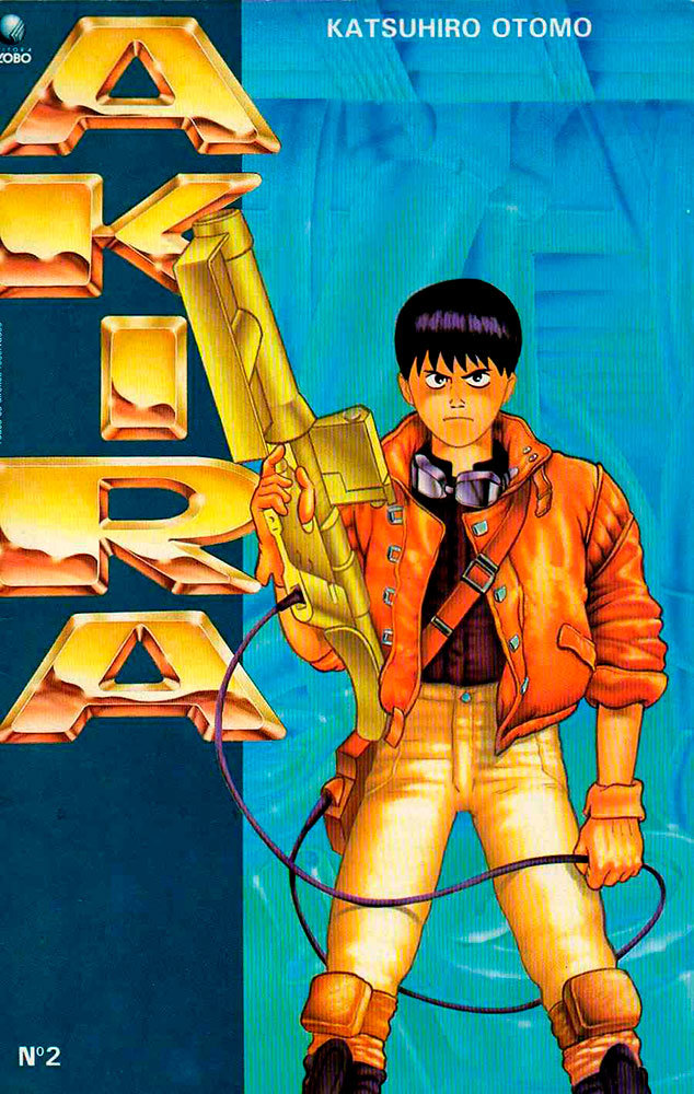 Akira # 2, da Editora Globo