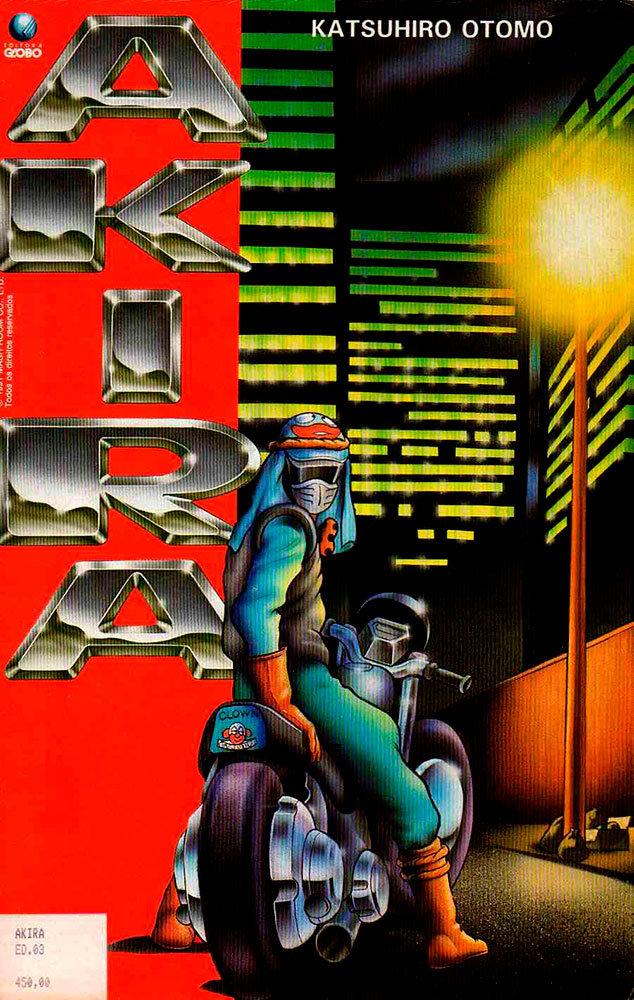 Akira # 3, da Editora Globo