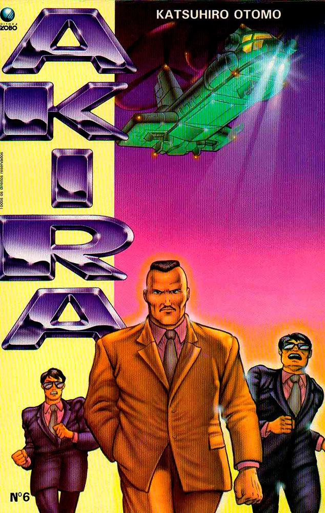 Akira # 6, da Editora Globo