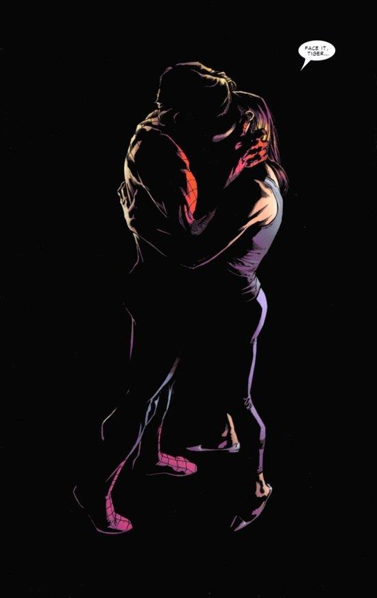 A despedida de Peter Parker e Mary Jane