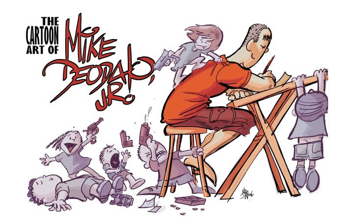 The Cartoon Art of Mike Deodato Jr.