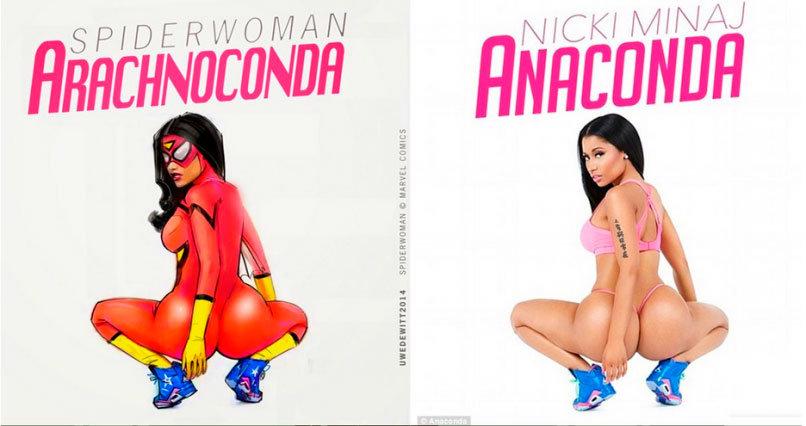 Mulher-Aranha - Nicki Minaj: Anaconda