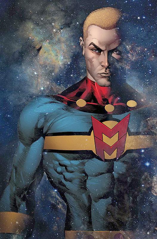 Miracleman # 2, capa de Mike Deodato Jr.