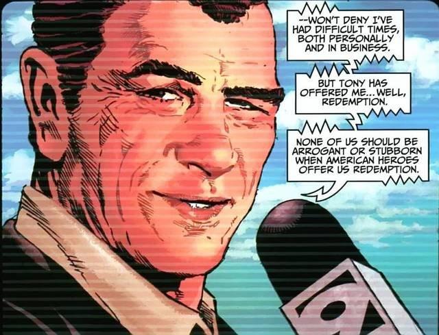 Norman Osborn com o rosto de Tommy Lee Jones