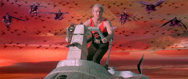 Sam J. Jones como Flash Gordon