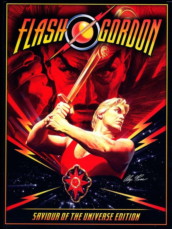 Capa do DVD ilustrada por Alex Ross