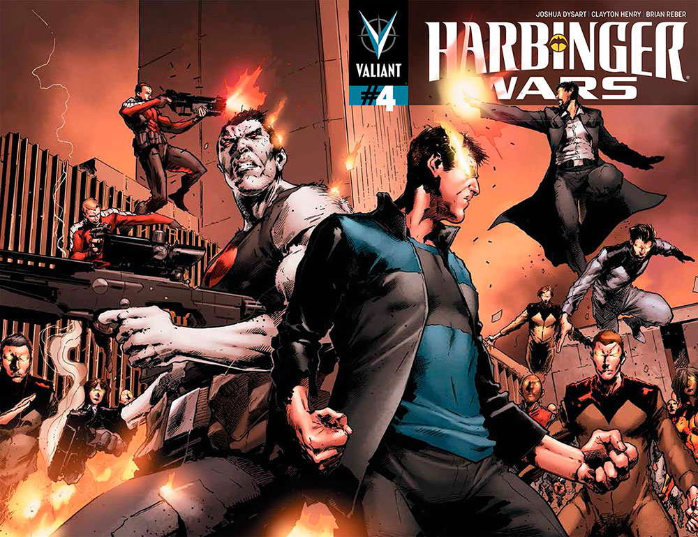 Valiant Comics HarbingerWars