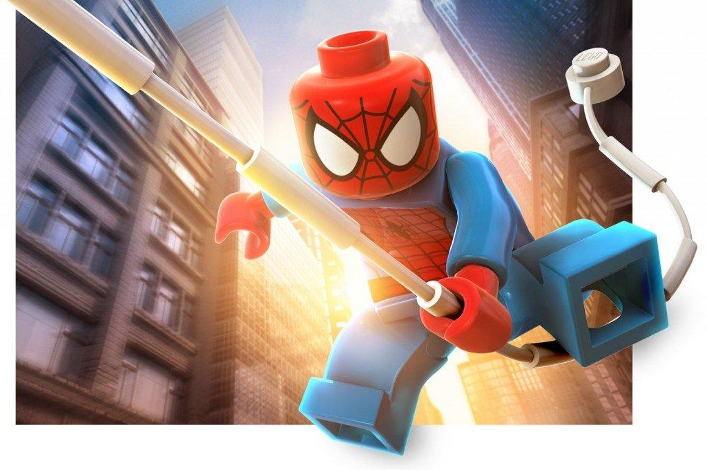 Homem-Aranha Lego