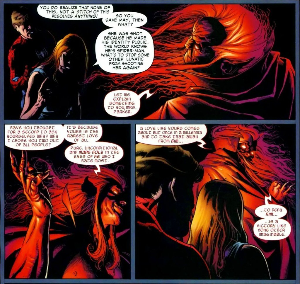 Mefisto faz acordo com Mary Jane