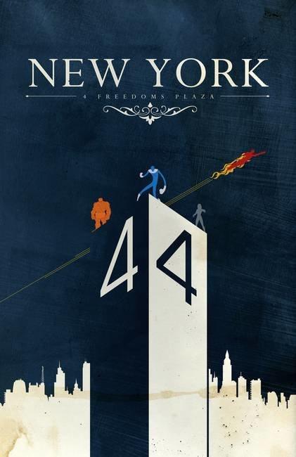 Nova York - Quarteto Fantástico