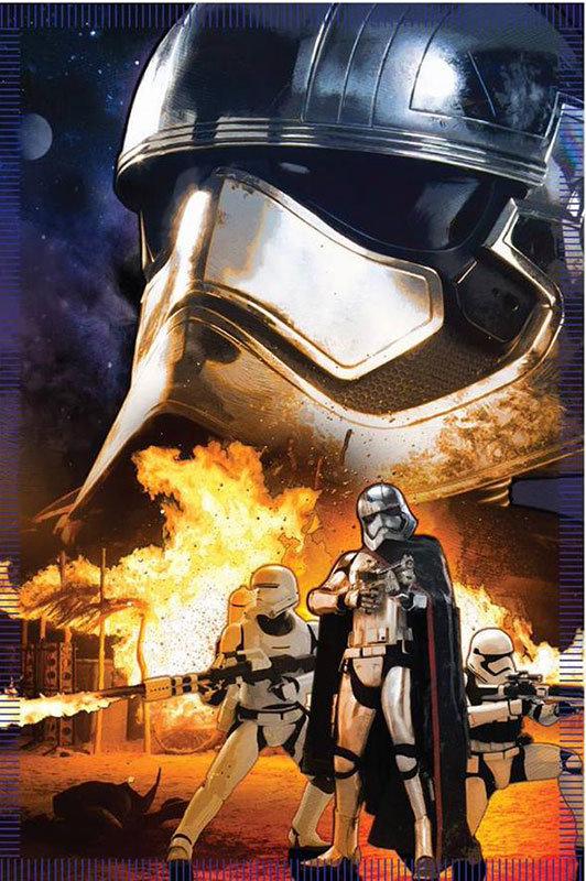 Arte conceitual de Star Wars - O despertar da Força