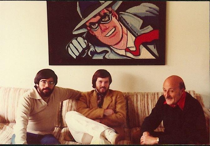 Steven Paul Leiva Brad Bird e Will Eisner