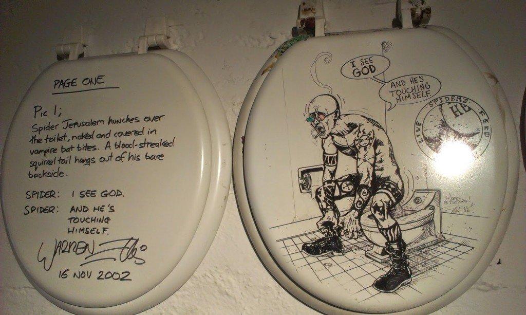 Quadrinhos no vaso sanitário - Warren Ellis e Darick Robertson