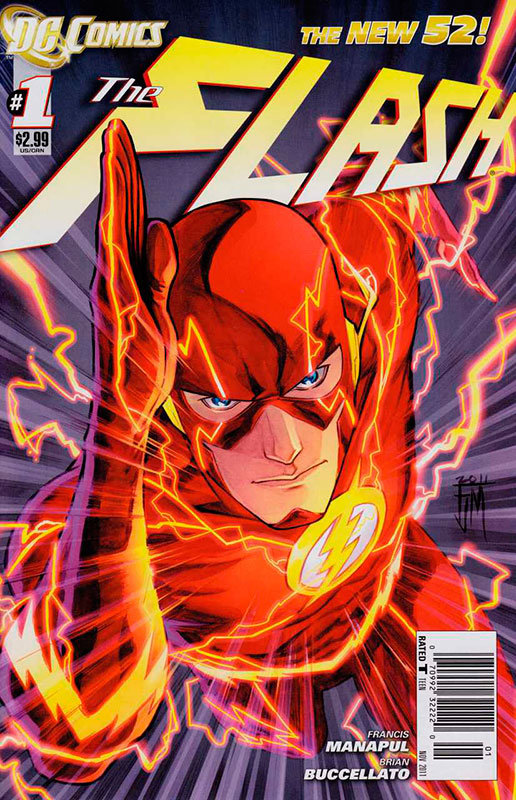 The Flash #1, por Francis Manapul