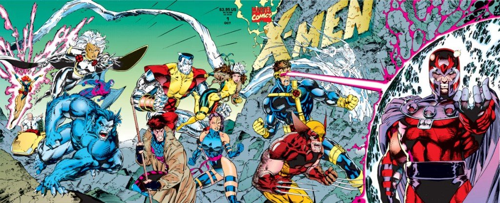 X-Men # 1, capa de Jim Lee