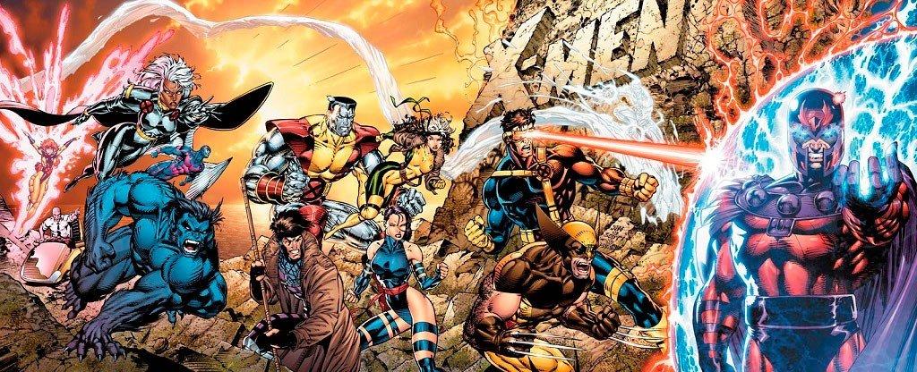 Capa de Jim Lee para X-Men