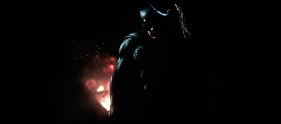 Cena de Batman vs. Superman - A origem da justiça