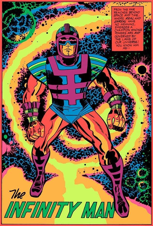 Black Light Poster do Homem Infinito