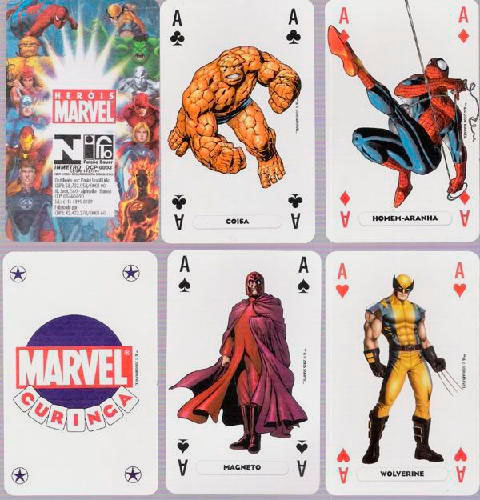 Baralhos Marvel