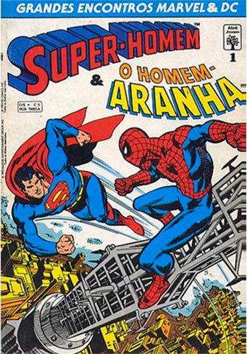 Grandes Encontros Marvel & DC - Super-Homem & Homem-Aranha