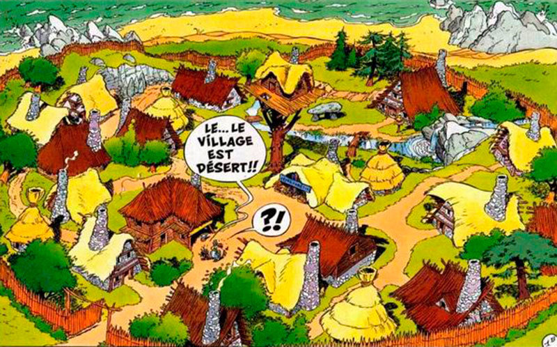 Aldeia do Asterix