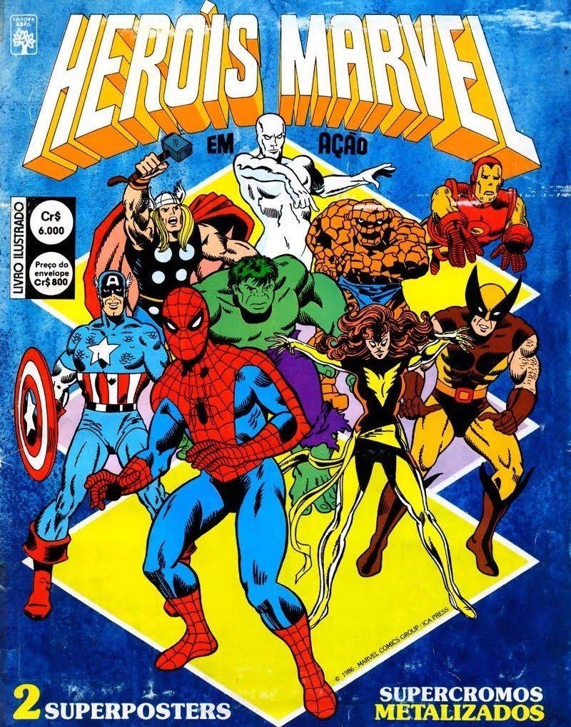 Heróis Marvel em Ação
