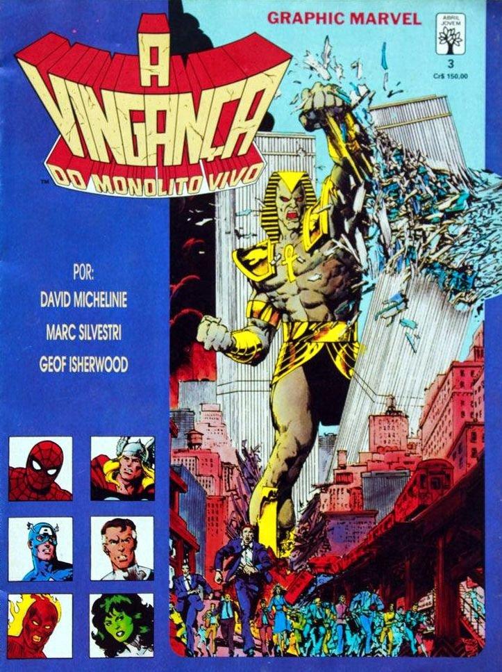 Coleção Graphic Marvel - A Vingança do Monolito Vivo