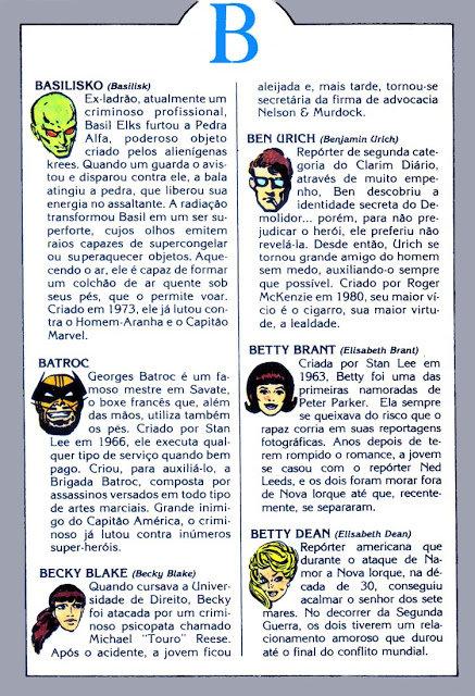 Coleção Dicionário Marvel