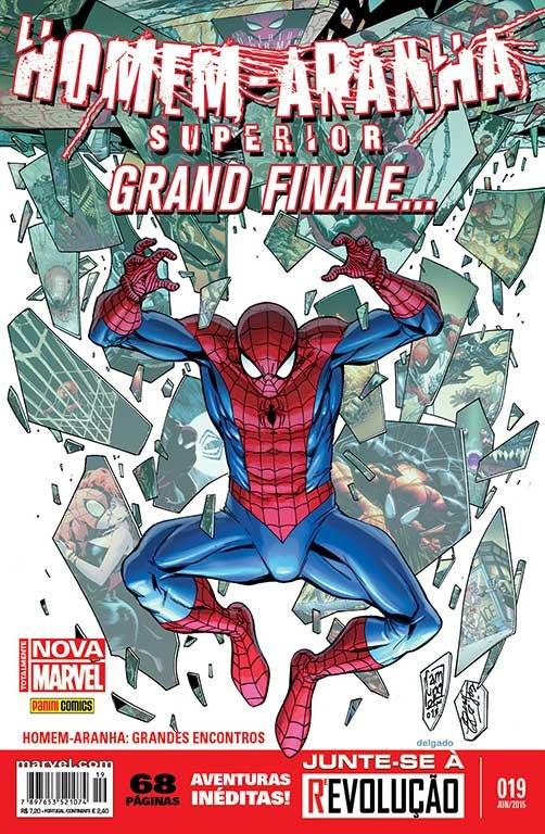Homem-Aranha Superior # 19