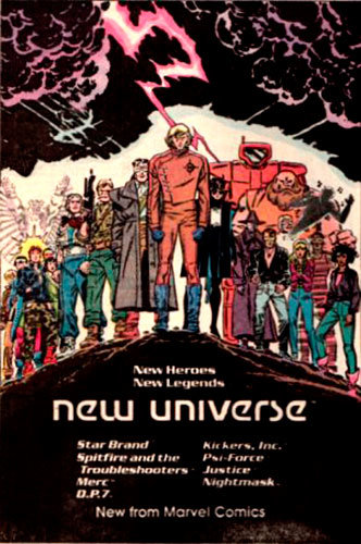 Anúncio do Novo Universo