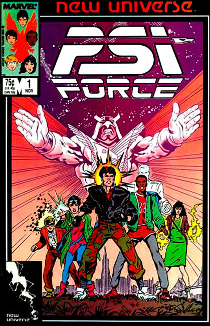 Psi Force # 1