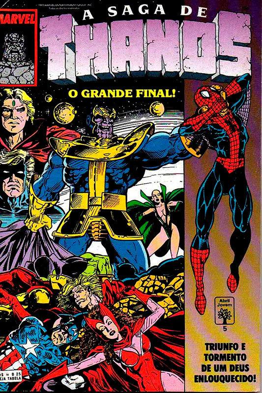 A Saga de Thanos # 5