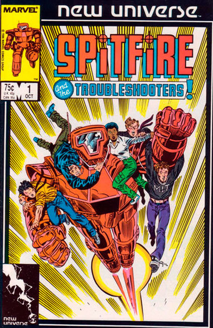 Spitfire and the Troubleshooters # 1