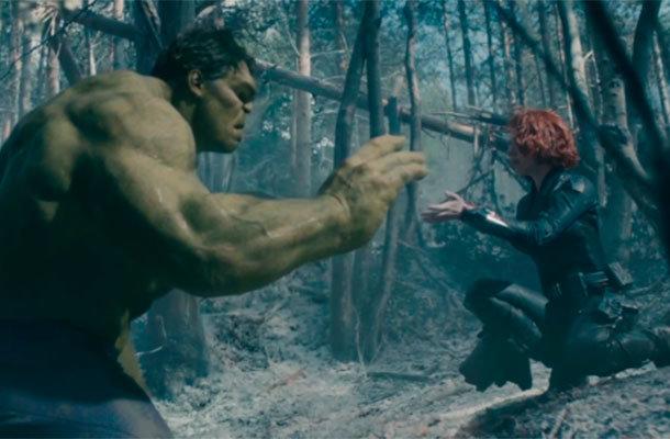 Hulk e Viúva Negra