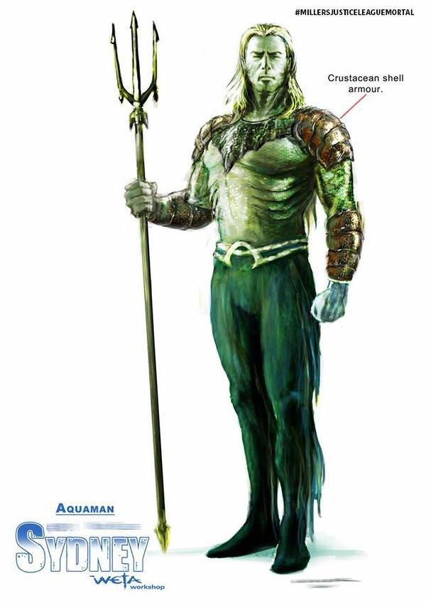 Aquaman em Justice League - Mortal