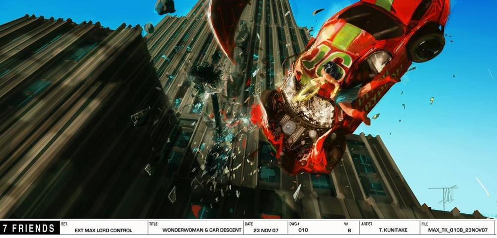 Arte conceitual de  Justice League - Mortal