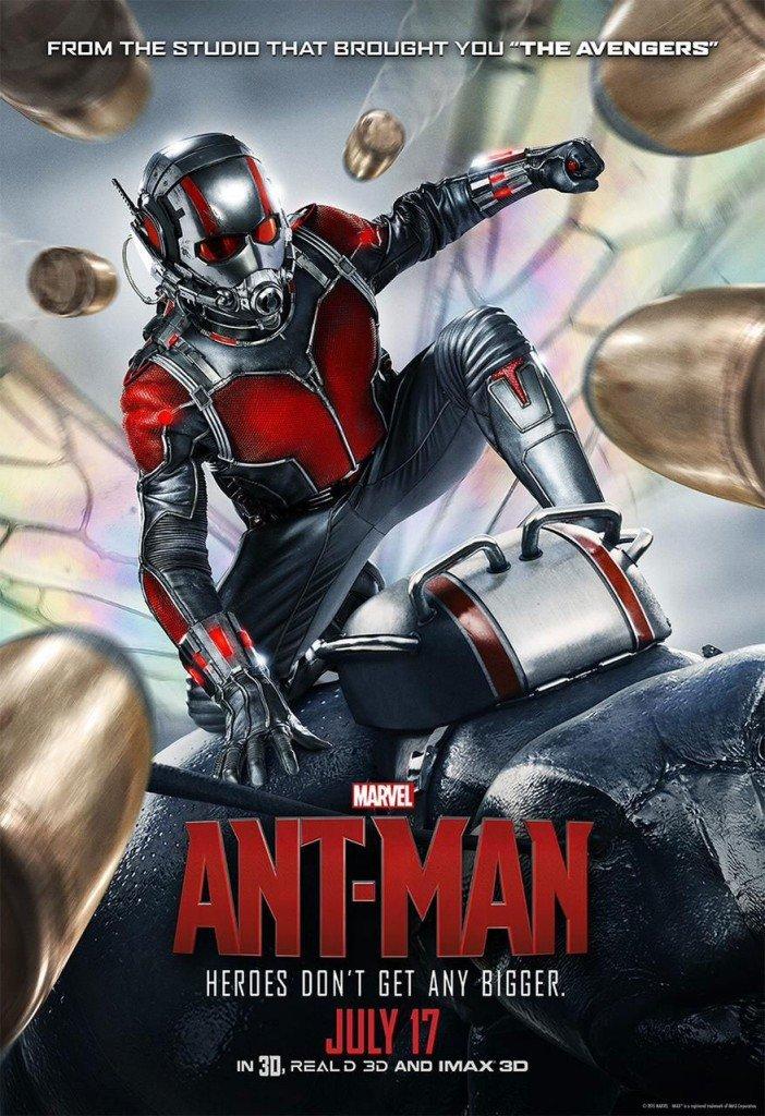 Cartaz de Homem-Formiga